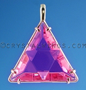 The Star of David in Ruby Lavender Quartz