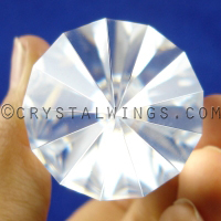 13 Sided Vogel Crystal End Shot